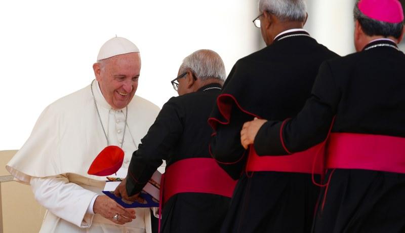Neue Kardinäle von Papst Franziskus ernannt