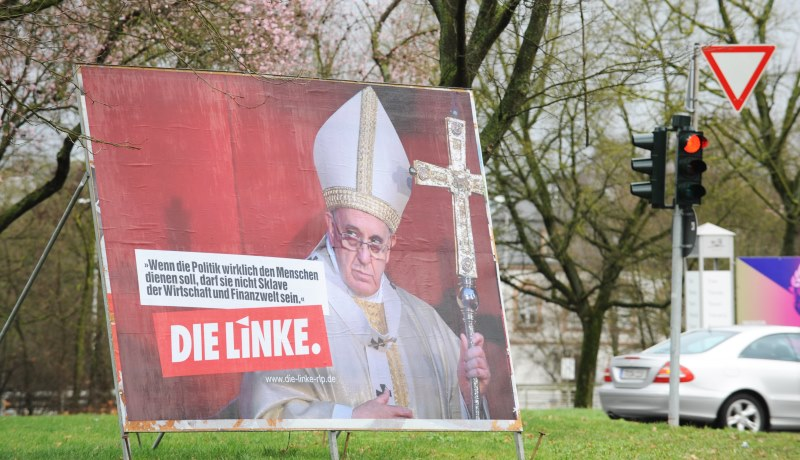 Streit in Linkspartei: Künftig weniger staatliche Hilfe an Kirchen?