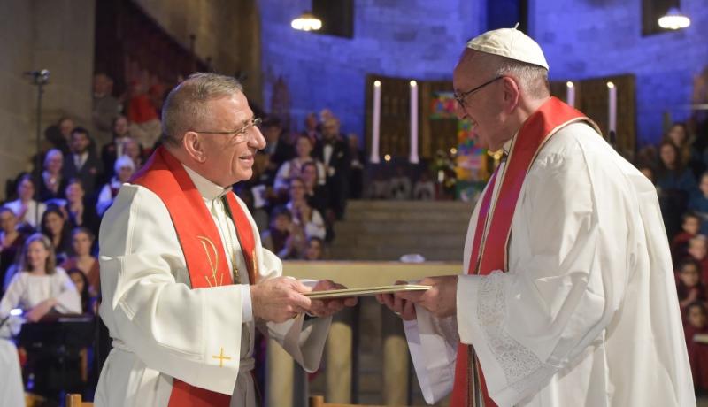 Papst Franziskus zu Besuch im schwedischen Lund