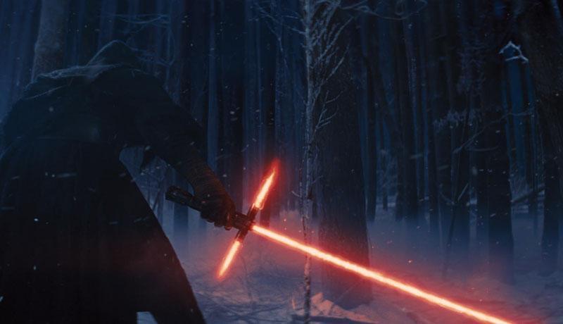 """Szene aus dem neuen Kinofilm """"Star Wars - Episode VII"""""""