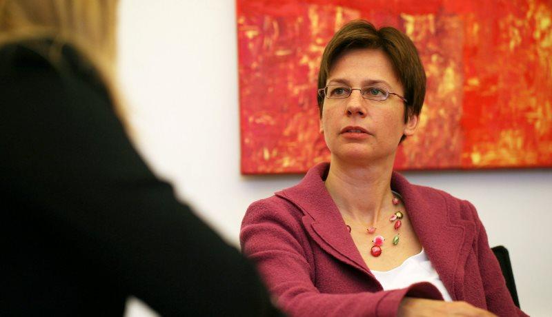 Gespräch mit der Caritas-Direktorin Ulrike Kostka