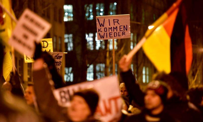 Widerstand leisten gegen AfD und Pegida