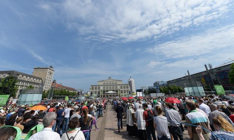 100. Katholikentag in Leipzig, einer Stadt der Säkularisierung