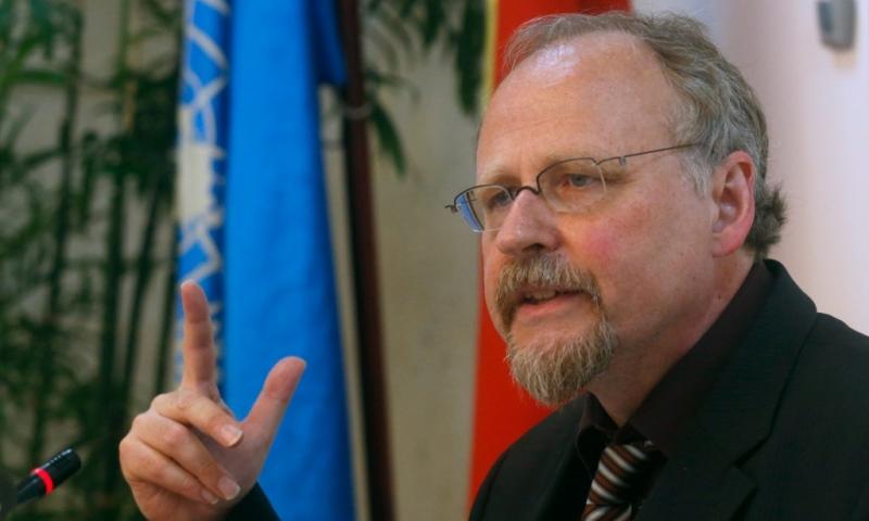 UN-Sonderberichtstatter Heiner Bielefeldt