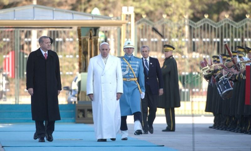 Papst und Erdogan: Es drohen religiöse Konflikte