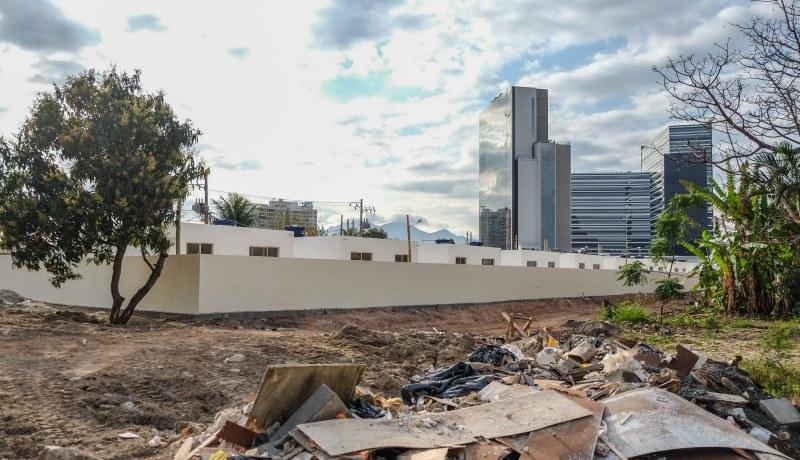 Armut vor den Türen von Olympia in Brasilien