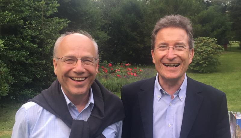 Klaus Mertes und Wolfgang Huber