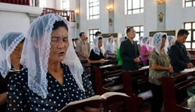 Katholischer Gottesdienst in Pjöngjang