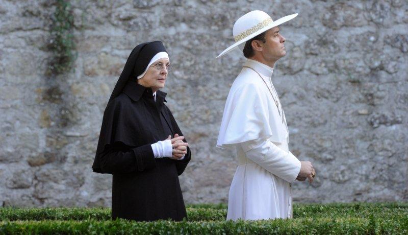 Pius XIII. mit Schwester Mary