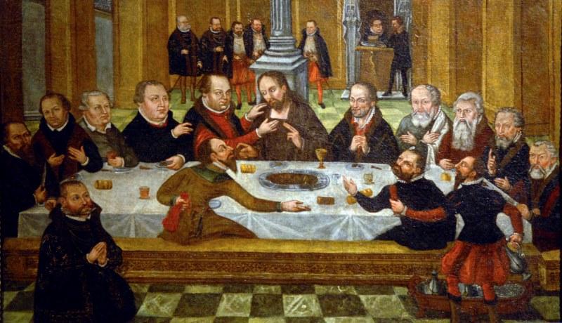 Abendmahl der Reformatoren