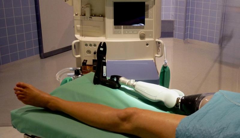 Künstliche Knieprothese