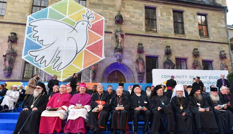 Weltfriedenstreffen in Münster