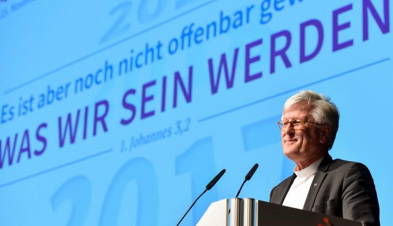 Heinrich Bedford-Strohm auf der EKD-Tagung in Bonn