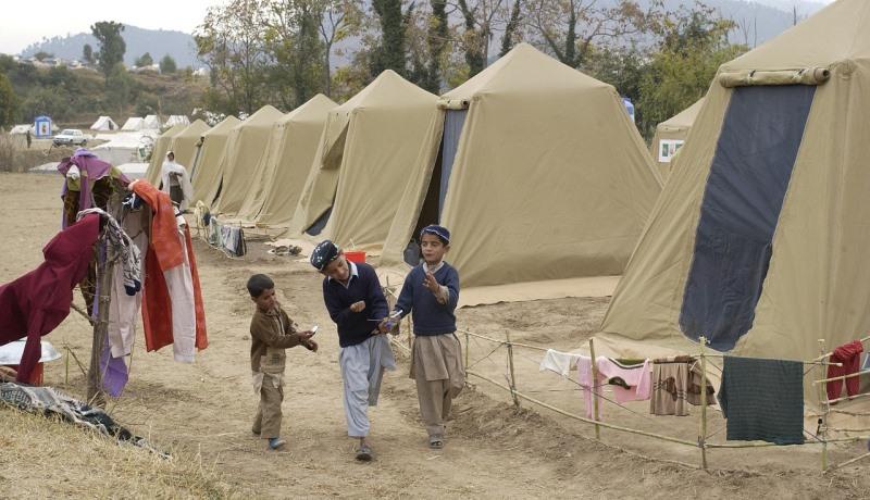 Flüchtlingslager in Pakistan