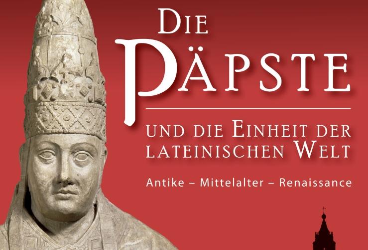 Plakat der Papstausstellung Mannheim