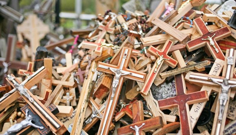 Berg der Kreuze: Wallfahrtsstätte in Litauen, die die Religionsfreiheit symbolisiert