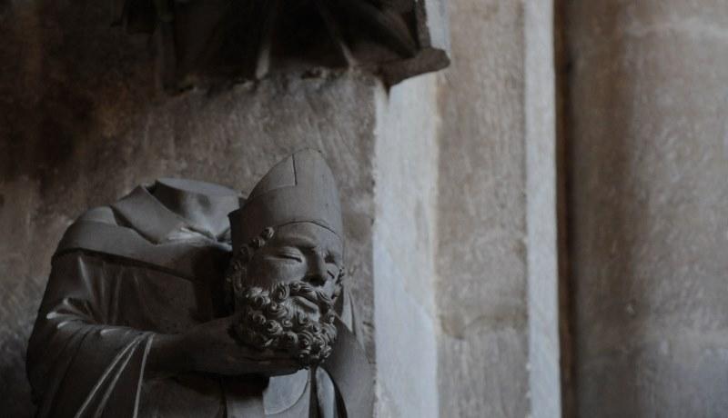 Statue des Heiligen Dionysius