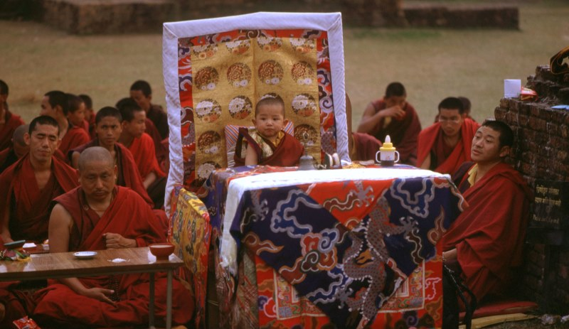 Buddhistische Wiedergeburtsfeier