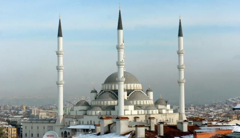Blick auf die Hauptstadt der Türkei Ankara