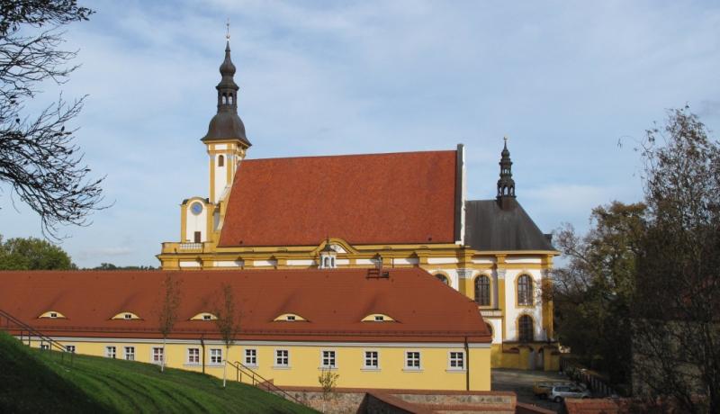 Blick auf das Kloster Neuzelle in Brandenburg