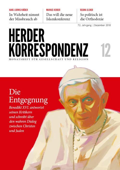 Herder Korrespondenz 72. Jahrgang (2018) Nr. 12/2018