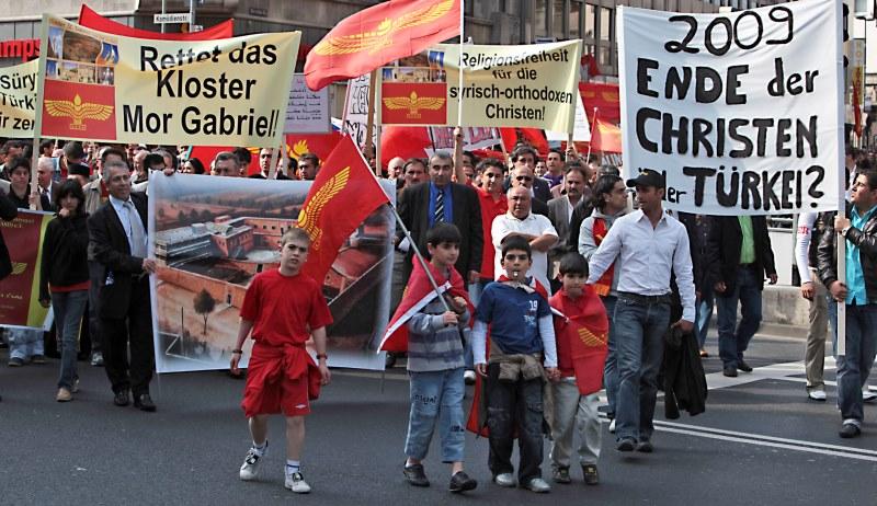 Demo für Religionsfreiheit