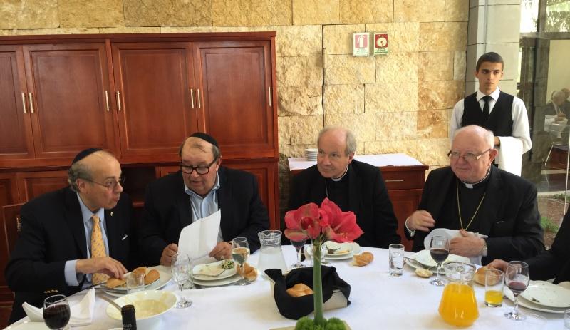 Begegnung von Rabbinern und Bischöfen