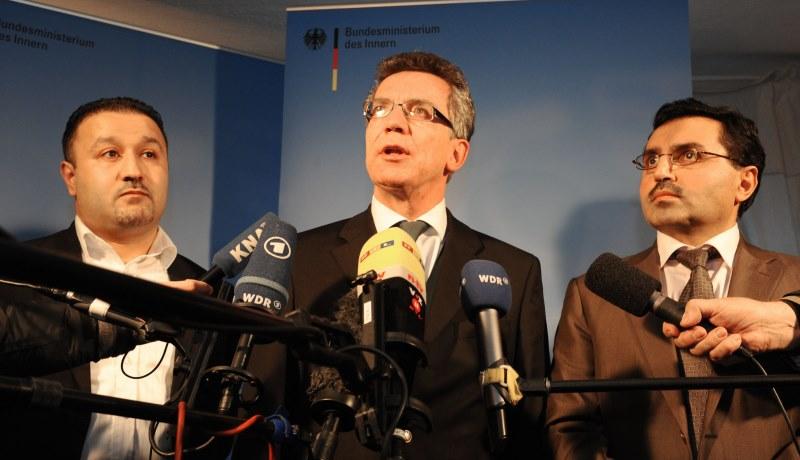 Pressekonferenz mit Thomas de Maiziere