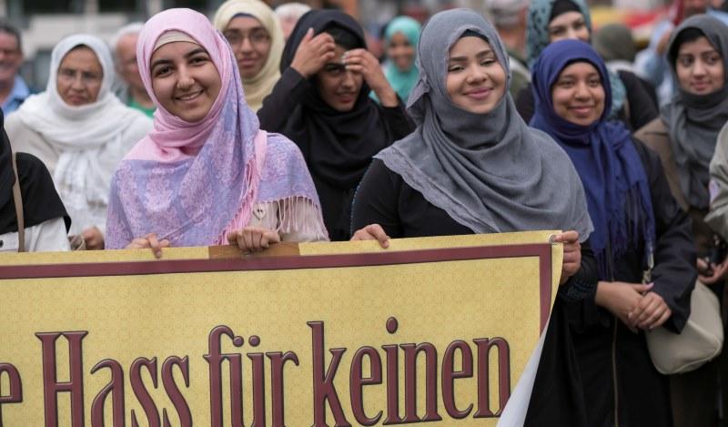 Demo gegen Terrorismus