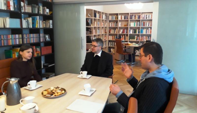 Streitgespräch zwischen Christiane Florin und Peter Kohlgraf