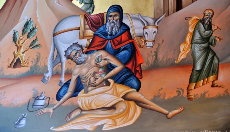 Bild des Barmherzigen Samariters