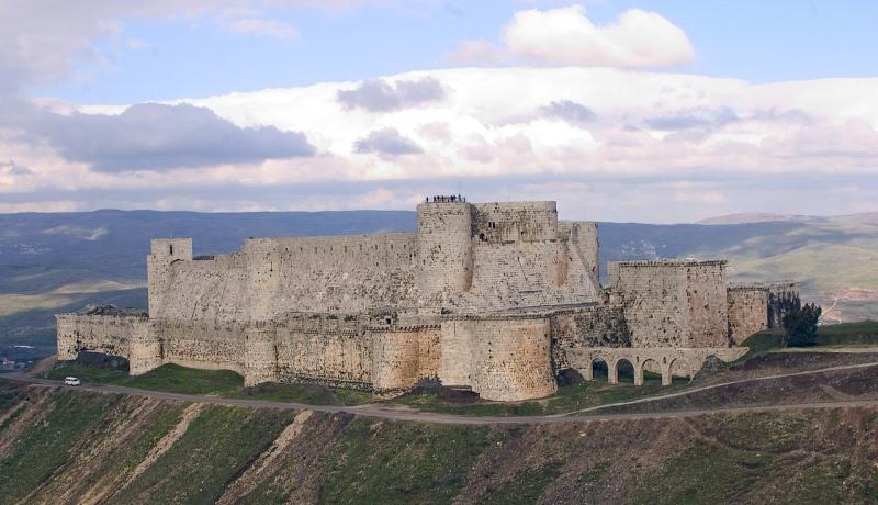 Kreuzfahrerburg in Syrien