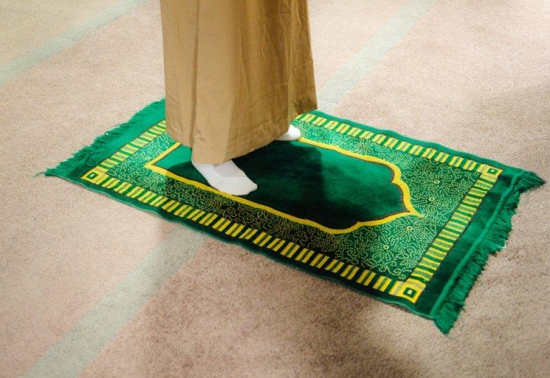 Islamischer Gebetsteppich
