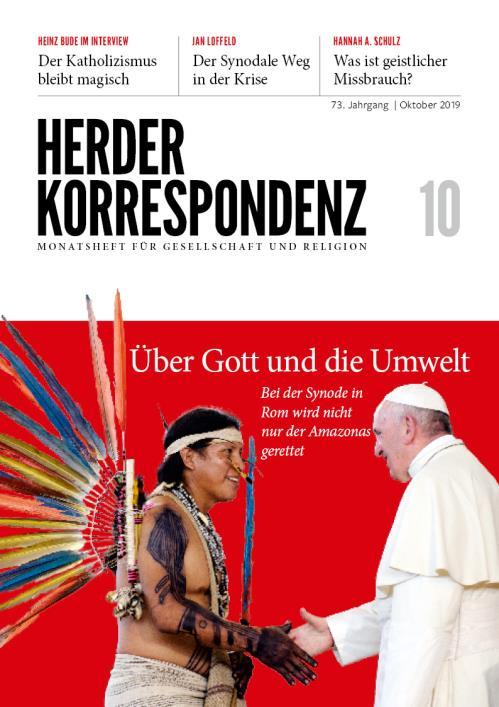 Herder Korrespondenz 73. Jahrgang (2019) Nr. 10/2019