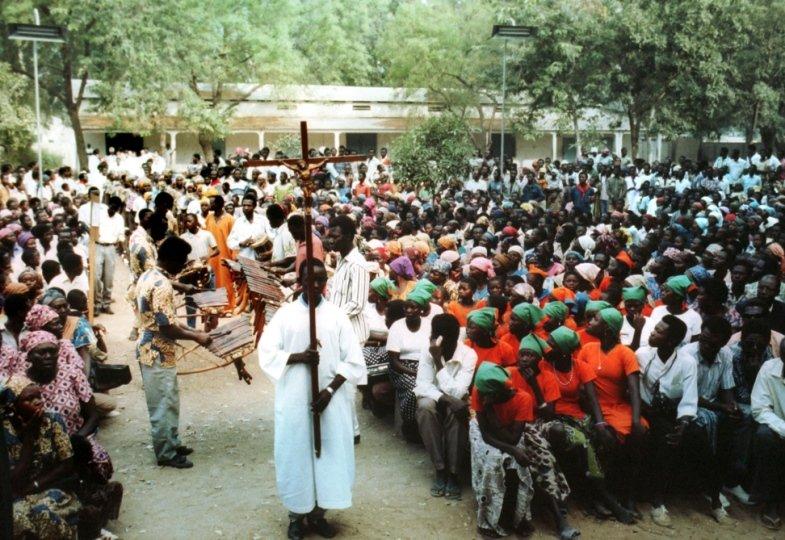 Christen im Tschad feiern Gottesdienst