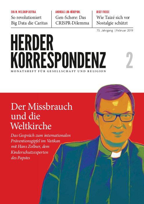 Cover Herder Korrespondenz 2/2019