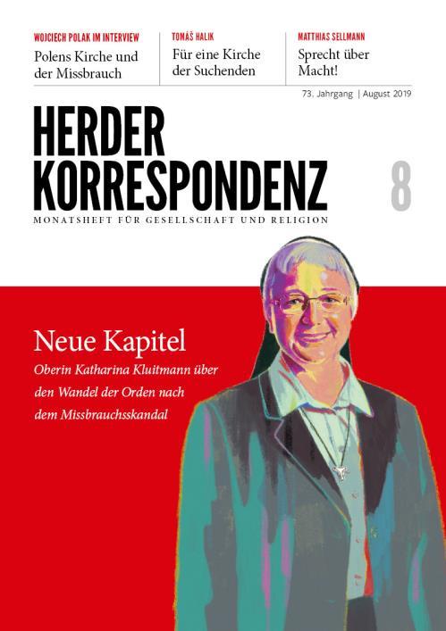 Herder Korrespondenz 73. Jahrgang (2019) Nr. 8/2019
