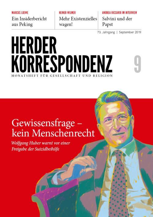 Herder Korrespondenz 73. Jahrgang (2019) Nr. 9/2019