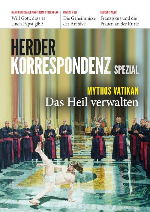 """Herder Korrespondenz Spezial 1/2019 """"Mythos Vatikan"""""""