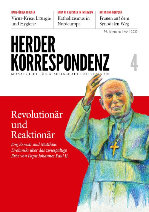 Herder Korrespondenz 74. Jahrgang (2020) Nr. 4/2020