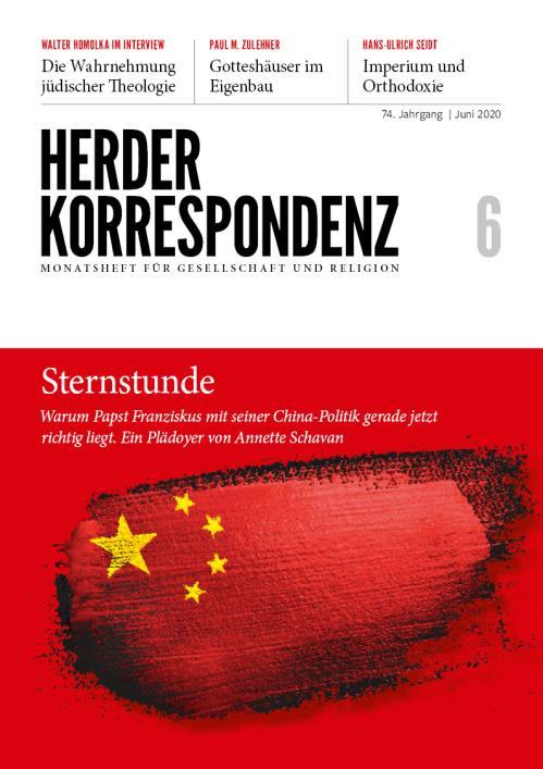 Herder Korrespondenz 74. Jahrgang (2020) Nr. 6/2020