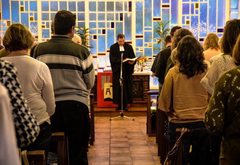 Geordneter Rückbau auf Evangelisch