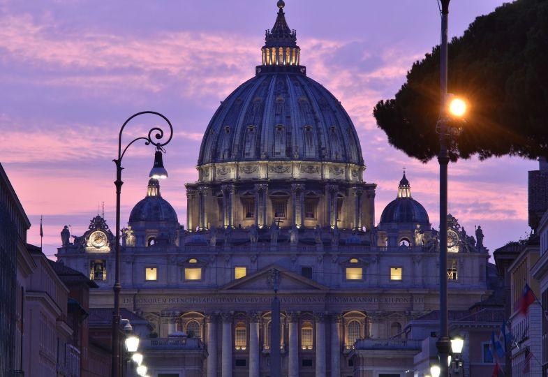 Der Vatikan in Rom.