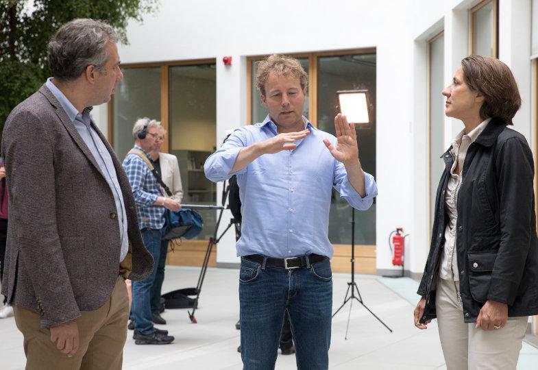 Ellen Ueberschär und Axel Bojanowski im Gespräch