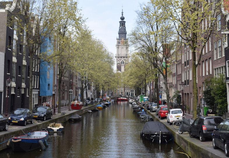 Grachten in den Niederlanden