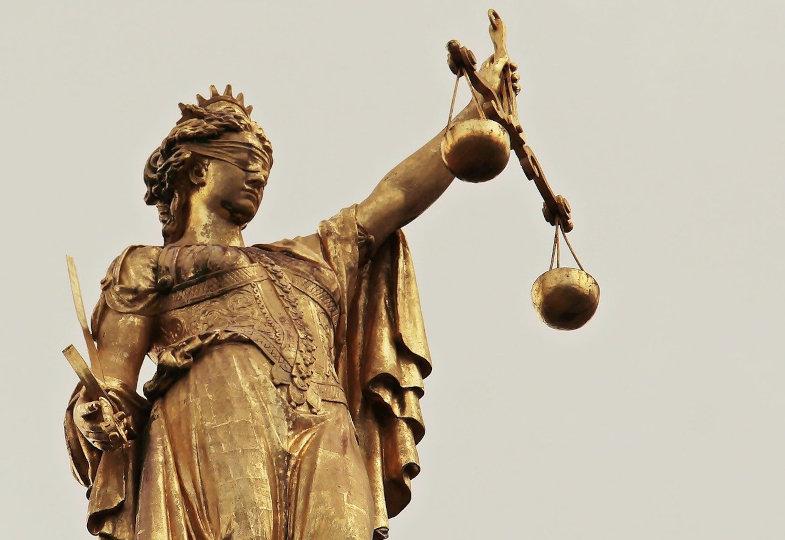 Sinnbild für Gerechtigkeit