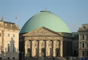 Sankt-Hedwigs-Kathedrale in Berlin