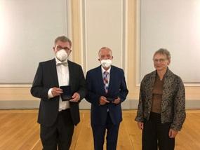 "Theologie in Berlin: ""Leuchtturm der Wissenschaft"". Verleihung der Humboldt-Universitäts-Medaille"