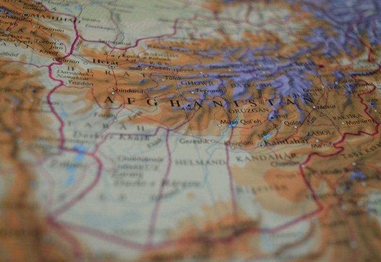 Landkarte Naher Osten