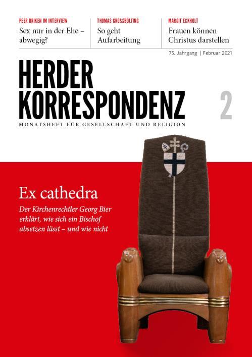 Herder Korrespondenz 75. Jahrgang (2021) Nr. 2/2021